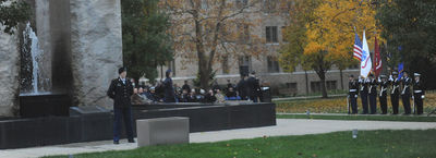 Rotc Vigil Celebrates Veterans Day